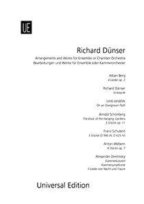 Richard Dünser: Bearbeitungen