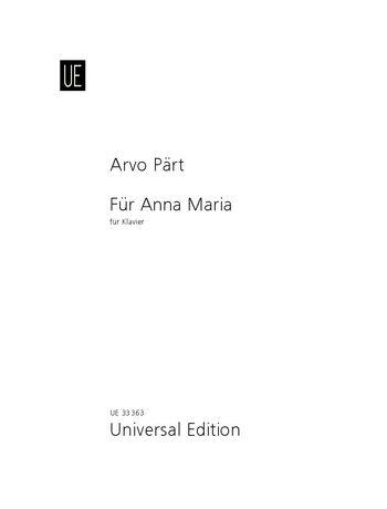 Für Anna Maria for piano