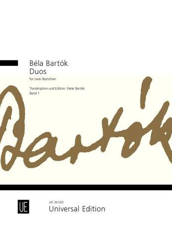 Bartók: Duos for 2 violas